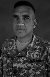 Command Sergeant Major Philip F. Johndrow, 48. Townsend, MT. Command Sergeant Major, 1st Cavalry Division. Taken at Camp Liberty, Baghdad on Friday May 25, 2007.