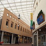 Winkelcentrum de Gooische Brink, glazen dak