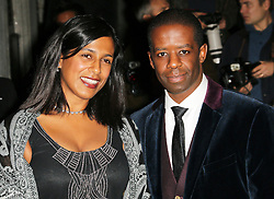 © Licensed to London News Pictures. Lolita Chakrabarti and Adrian Lester attending the London Evening Standard Theatre Awards at the The Savoy Hotel in London, UK on 17 November 2013. Photo credit: Richard Goldschmidt/PiQtured/LNP