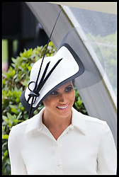 June 19, 2018 - Ascot, United Kingdom - The Duchess of Sussex   on the opening day of Royal Ascot, United Kingdom. (Credit Image: © Stephen Lock/i-Images via ZUMA Press)