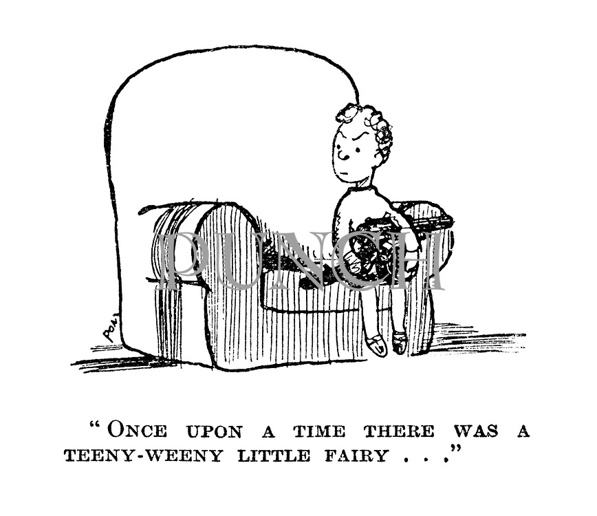 """Once upon a time there was a teeny-weeny little fairy ..."""