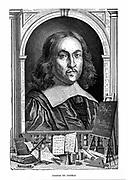 Pierre de Fermat (1595?-1665) French mathematician. From Louis Figuier 'Vies des Savants Ilustres', Paris, 1870. Wood engraving.