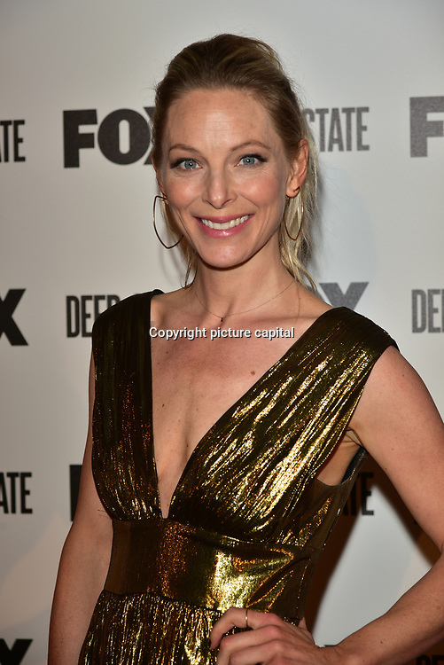 Anastasia Griffith Attend the European Premiere Deep State at Curzon Soho on 15 March 2018, London, UK.