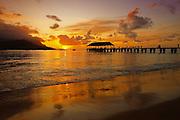 Moorea Tahiti at Sunset