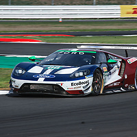 #66, Ford Chip Ganassi Team UK, Ford GT, LMGTE Pro, driven by: Stefan Mucke, Olivier Pla at FIA WEC Silverstone 6h, 2018 on 17.08.2018