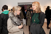 YVONNE WINKLER; TATJANA D;ABO; , SANCTUARY: BRITAIN'S ARTISTS AND THEIR STUDIOS -Book launch, Christie's King Street, St James 13 March 2012.