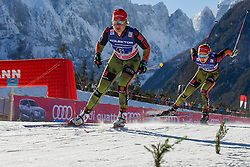 Lucia Anger (GER) during the ladies team sprint race at FIS Cross Country World Cup Planica 2016, on January 17, 2016 at Planica, Slovenia. Photo By Urban Urbanc / Sportida