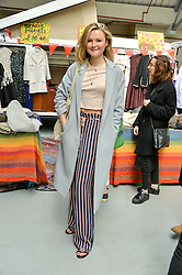 AMBER ATHERTON at #SheInspiresMe Car Boot Sale in Aid of Women for Women International held at the Brewer Street Carpark, Soho, London on 23rd April 2016.
