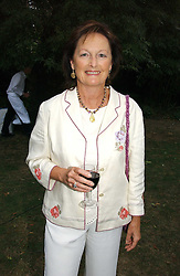 Writer RACHEL BILLINGTON at a party to celebrate the publication of Notting Hell by Rachel Johnson held in the gardens of 1 Rosmead Road, London W11 on 4th September 2006.<br /><br />NON EXCLUSIVE - WORLD RIGHTS