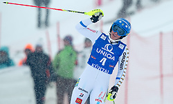 29.12.2014, Hohe Mut, Kühtai, AUT, FIS Ski Weltcup, Kühtai, Slalom, Damen, 2. Durchgang, im Bild Maria Pietilae-Holmner (SWE) // Maria Pietilae-Holmner of Sweden reacts after 2nd run of Ladies Giant Slalom of the Kuehtai FIS Ski Alpine World Cup at the Hohe Mut Course in Kuehtai, Austria on 2014/12/29. EXPA Pictures © 2014, PhotoCredit: EXPA/ JFK