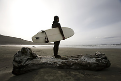 July 21, 2019 - Surfer On Beach (Credit Image: © Deddeda/Design Pics via ZUMA Wire)