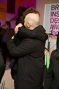YVES BEHAR AND HUSSEIN CHALAYAN, Brit Insurance Design Awards. Design Museum. London. 18 March 2008.  *** Local Caption *** -DO NOT ARCHIVE-© Copyright Photograph by Dafydd Jones. 248 Clapham Rd. London SW9 0PZ. Tel 0207 820 0771. www.dafjones.com.