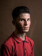 Bjar, age 18, from Iraq (Yazidi).