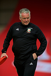 NEWPORT, WALES - Tuesday, June 12, 2018: Wales' Mike Murphy during the FIFA Women's World Cup 2019 Qualifying Round Group 1 match between Wales and Russia at Newport Stadium. (Pic by David Rawcliffe/Propaganda)