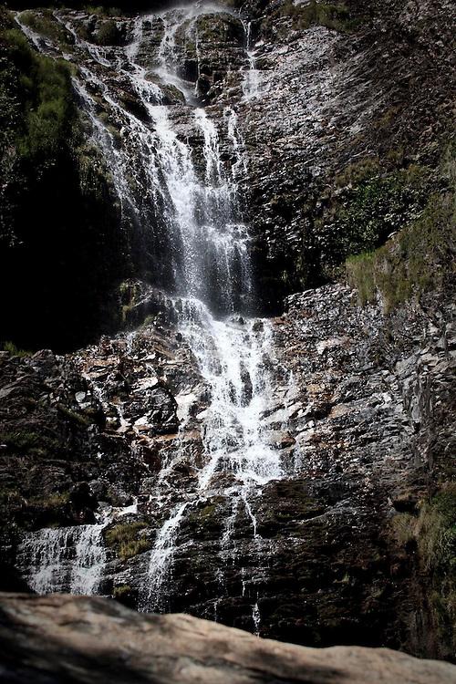 Santana do Riacho_MG, Brasil.<br /> <br /> Cachoeira no Parque Nacional da Serra do Cipo, localizado na Serra do Espinhaco em Santana do Riacho, Minas Gerais.<br /> <br /> A waterfall in National Park Serra do Cipo, located in Serra do Espinhaco in Santana do Riacho, Minas Gerais.<br /> <br /> Foto: BRUNO MAGALHAES / NITRO