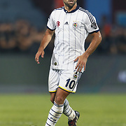 Fenerbahce's Diego Ribas during their Turkish SuperLeague Derby match Trabzonspor between Fenerbahce at the Avni Aker Stadium at Trabzon Turkey on Sunday, 14 September 2014. Photo by Aykut AKICI/TURKPIX