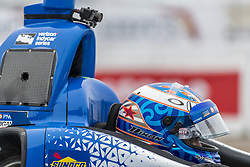 March 10, 2018 - St. Petersburg, Florida, United States of America - March 10, 2018 - St. Petersburg, Florida, USA: Scott Dixon (9) prepares for a practice session for the Firestone Grand Prix of St. Petersburg at Streets of St. Petersburg in St. Petersburg, Florida. (Credit Image: © Walter G Arce Sr Asp Inc/ASP via ZUMA Wire)