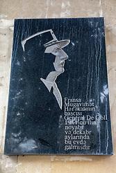 Charles de Gaulle Plaque