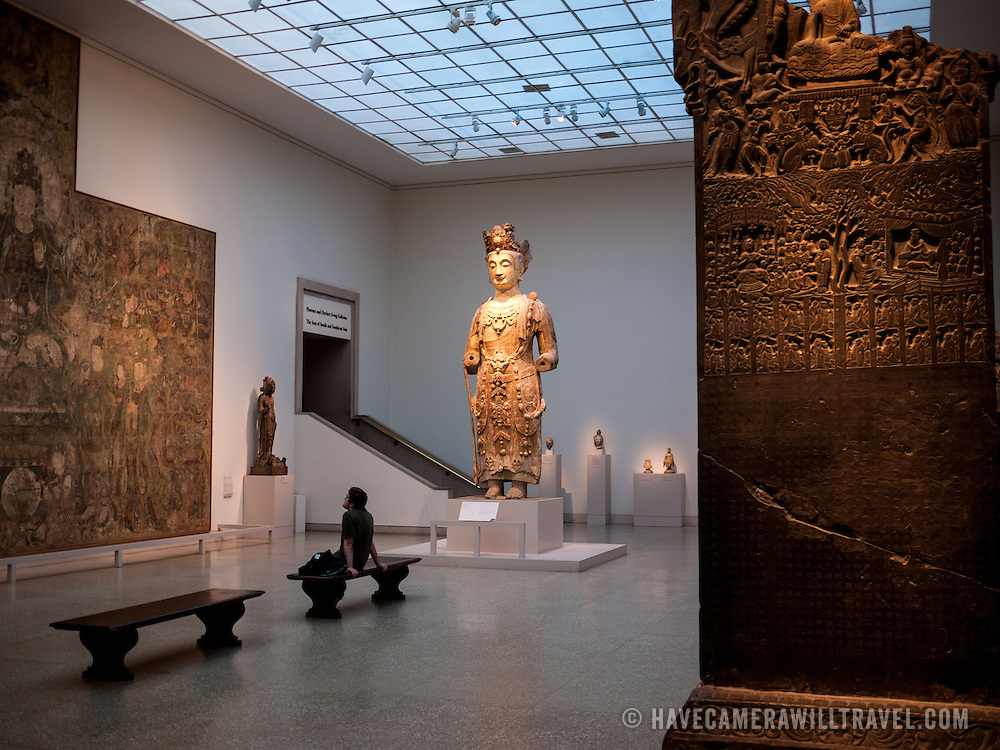 One of the many antiquities exhibits at the Metropolitan Museum of Art in New York, New York.