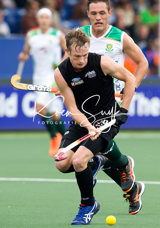 THE HAGUE - South Africa vs New Zealand during the Rabobank World Cup Hockey 2014. PHOTO KOEN SUYK
