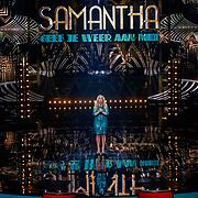 NLD/Hilversum/20180216 - Finale The voice of Holland 2018, optreden Samantha Steenwijk
