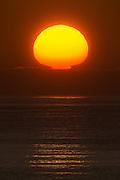 Sunset at the west coast of Norway. Blended by two exposures   Solnedgang på vestkysten av Norge. Bildet er tatt fra Hidsneset. Bildet er sett sammen av to eksponeringer.