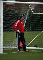 Photo: Paul Thomas.<br />Liverpool training session. UEFA Champions League. 05/03/2007.<br /><br />Jose Reina of Liverpool.