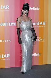 personalities walk amfAR Gala Milano Fashion Week 2018 - Red Carpet. 22 Sep 2018 Pictured: Violet Chachki. Photo credit: kilmax / MEGA TheMegaAgency.com +1 888 505 6342