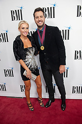 Nov. 13, 2018 - Nashville, Tennessee; USA - Musician LUKE BRYAN and his wife CAROLINA BOYER BRYAN attends the 66th Annual BMI Country Awards at BMI Building located in Nashville.   Copyright 2018 Jason Moore. (Credit Image: © Jason Moore/ZUMA Wire)