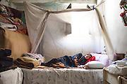 Palestinian refugee in Ain al-Hilweh camp, Lebanon.