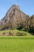 The ruins of Kronburg Castle, Zams, Tirol, Austria