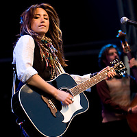 KT Tunstall performing live at The Forest Tour 2008, Delamere Forest, Cheshire, UK on 15th June 2008