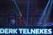 Derk Telnekes (Netherlands), walk-on, during the William Hill World Darts Championship at Alexandra Palace, London, United Kingdom on 20 December 2020.