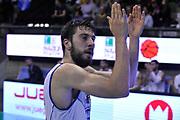 DESCRIZIONE : Treviso Lega due 2015-16  Universo Treviso De Longhi - Aurora Basket Jesi<br /> GIOCATORE : marco fantinelli<br /> CATEGORIA : Esultanza<br /> SQUADRA : Universo Treviso De Longhi - Aurora Basket Jesi<br /> EVENTO : Campionato Lega A 2015-2016 <br /> GARA : Universo Treviso De Longhi - Aurora Basket Jesi<br /> DATA : 31/10/2015<br /> SPORT : Pallacanestro <br /> AUTORE : Agenzia Ciamillo-Castoria/M.Gregolin<br /> Galleria : Lega Basket A 2015-2016  <br /> Fotonotizia :  Treviso Lega due 2015-16  Universo Treviso De Longhi - Aurora Basket Jesi