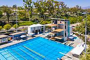 Aerial View of Mission Viejo Nadadores Swim Facility