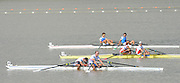 Chungju, South Korea. GBR LM2X. Bronze Medalist, Bow Richard CHAMBERS and peter CHAMBERS, Approaching the finishing line in the Lightweight men's Double Sculls final at the 2013 World Rowing Championships, Tangeum Lake, International Regatta Course.  Saturday  31/08/2013 [Mandatory Credit. Peter Spurrier/Intersport Images]