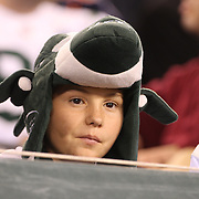 A young New York Jets fan during the New York Jets Vs Chicago Bears, NFL regular season game at MetLife Stadium, East Rutherford, NJ, USA. 22nd September 2014. Photo Tim Clayton for the New York Times