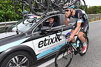 BOONEN  Tom ( Bel)/  SLYCKE Rik (BEL) Team Etixx Quick-Step Sportsdirector, during the Giro d'Italia 2015, Stage 7, Grosseto-Fiuggi (264 Km) on May 15, 2015. Photo Tim de Waele / DPPI