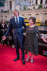 Director Michael Bay with his mother Harriet Bay at the US Premier of 'Transformers: The Last Knight' on the Chicago River in front of the Civic Opera House on Tuesday June 20, 2017 in Chicago, IL. Photo: Christopher Dilts / Sipa USA *** Please Use Credit from Credit Field ***