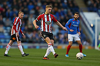 Football - 2019 / 2020 Emirates FA Cup - Second Round: Portsmouth vs. Altrincham<br /> <br /> Jake Moult of Altrincham in action during the FA Cup match at Fratton Park <br /> <br /> COLORSPORT/SHAUN BOGGUST