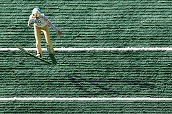 Tomaz Naglic during Slovenian summer national championship and opening of the reconstructed Bloudek's hill in Planica on October 14, 2012 in Planica, Ratece, Slovenia. (Photo by Grega Valancic / Sportida)