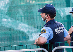 Police during football match between NK Radomlje and NK Olimpija in 2nd Round of Prva Liga Telemach 2021/22, on July 25, 2021 in Domzale Stadium, Ljubljana, Slovenia. Photo by Nik Moder / Sportida