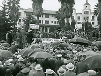 1926 Ceremony making Will Rogers honorary mayor of Beverly Hills