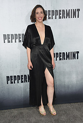 August 28, 2018 - Hollywood, California, U.S. - Samantha Edelstein arrives for the premiere of the film 'Peppermint' at the Regal Cinemas LA Live theater. (Credit Image: © Lisa O'Connor/ZUMA Wire)