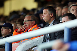 Peterborough United Manager, Darren Ferguson watches the match from the stand - Photo mandatory by-line: Joe Dent/JMP - Mobile: 07966 386802 - 04/10/2014 - SPORT - Football - Peterborough - London Road Stadium - Peterborough United v Oldham Athletic - Sky Bet League One