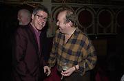 Griff Rhys Jones and Mel Smith. Hackney Empire Centenary Cabaret Celebration. 10 March 2001. © Copyright Photograph by Dafydd Jones 66 Stockwell Park Rd. London SW9 0DA Tel 020 7733 0108 www.dafjones.com