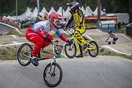 #366 (KAPITANOVA Tatiana) RUS at Round 6 of the 2018 UCI BMX Superscross World Cup in Zolder, Belgium