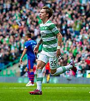 24/05/15 SCOTTISH PREMIERSHIP<br /> CELTIC v INVERNESS CT<br /> CELTIC PARK - GLASGOW<br /> Celtic's Stefan Johansen celebrates his goal