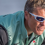 James Cracknell<br /> <br /> Crews prepare for Sunday's 165th Boat Race between Oxford and Cambridge, River Thames, London, Friday 5th April 2019. © Copyright photo Steve McArthur / www.photosport.nz