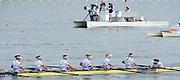 Chungju, South Korea.  Final Women's Eights, ITA W8+2013 FISA World Rowing Championships, Tangeum Lake International Regatta Course.15:53:53  Sunday  01/09/2013 [Mandatory Credit. Peter Spurrier/Intersport Images]<br /> <br /> 1USA W8+. Bow. Amanda POLK (b) , Kerry SIMMONDS (2) , Emily REGAN (3) , Lauren SCHMETTERLING (4) , Grace LUCZAK (5) , Meghan MUSNICKI (6) , Victoria OPITZ (7) , Caroline LIND (s) , Katelin SNYDER<br /> <br /> 2ROU W8+. Bow. Cristina ILIE (b) , Ionelia ZAHARIA (2) , Cristina GRIGORAS (3) , Ioana CRACIUN (4) , Camelia LUPASCU (5) , Andreea BOGHIAN (6) , Roxana COGIANU (7) , Nicoleta ALBU (s) , Daniela DRUNCEA.<br /> <br /> 3CANW8+. Bow. Lisa ROMAN (b) , Jennifer MARTINS (2) , Carolyn GANES (3) , Susanne GRAINGER (4) , Sarah BLACK (5) , Christine ROPER (6) , Natalie MASTRACCI (7) , Cristy NURSE (s) , Kristen KIT.<br /> <br /> 4.     GBRW8+. Melanie WILSON (b) , Caragh MCMURTRY (2) , Louisa REEVE (3) , Beth RODFORD (4) , Jessica EDDIE (5) , Zoe LEE (6) , Katie GREVES (7) , Olivia CARNEGIE-BROWN (s) , Zoe DE TOLEDO. <br /> <br /> 5AUSW8+. Bow. Hannah VERMEERSCH (b) , Renee CHATTERTON (2) , Peta WHITE (3) , Katrina BATEMAN (4) , Tess GERRAND (5) , Alexandra HAGAN (6) , Charlotte SUTHERLAND (7) , Lucy STEPHAN (s) , Elizabeth PATRICK.<br /> <br /> 6NED W8+. Bow. Marleen VERBURGH (b) , Kyra DE VRIES (2) , Aletta JORRITSMA (3) , Janneke VAN DER MEULEN (4) , Kirsten WIELAARD (5) , Dominique Van der PAUW (6) , Rosa BAS (7) , Heleen BOERS (s) , Jonna DE VRIES (c)